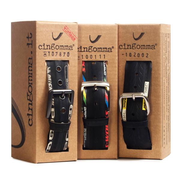 ceintures colorées Cingomma